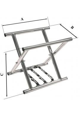 Cavalete Alumínio Flexível