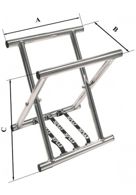 Cavalete Alumínio Flexível Longo