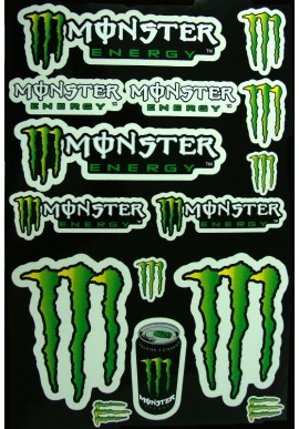 AUTOCOLANTE MONSTER