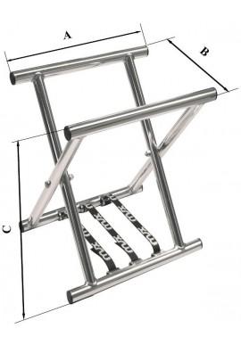 Long Alum. Flexible Stand